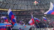 Russland Moskau | Konzert anlässlich des Jahrestages von Krim-Annexion