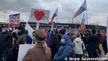 18.03.2021 Konzert anlässlich des Jahrestages von Krim-Annexion.