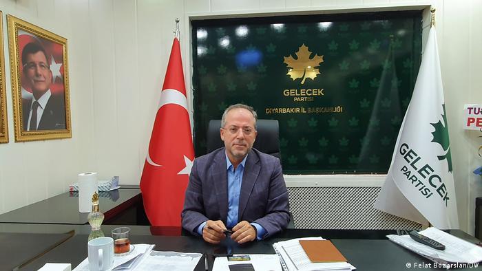 Diyarbakir's local GELEK chairman Aydin Altac