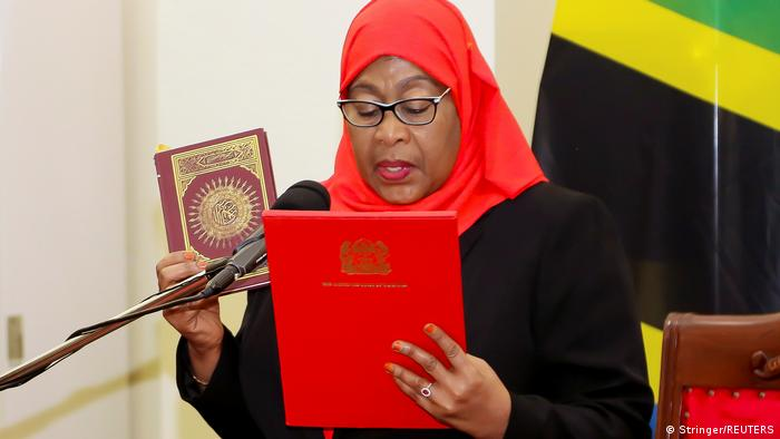 Samia Suluhu Hassan akila kiapo cha urais