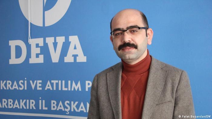 Diyarbakir's DEVA chairman Cihan Ulsen
