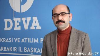 DEVA Partisi Diyarbakır İl Başkanı Cihan Ülsen