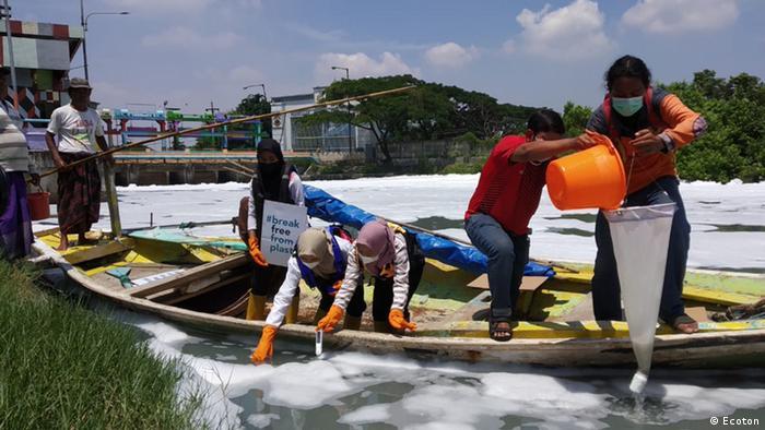 Partikel mikroplastik ditemukan di Sungai Tambak Wedi
