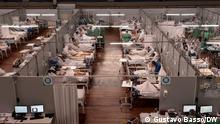 Brasilien Sao Paulo Feldkrankenhaus von Sto Andre im Großraum