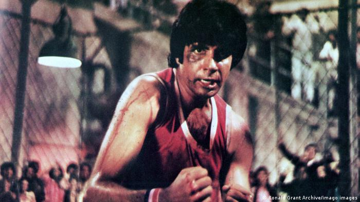 Amitabh Bachchan in a scene from the film Naseeb (Fate)