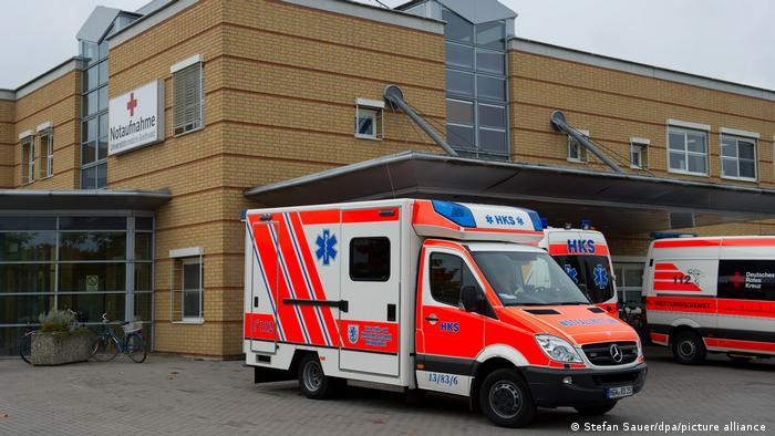 Deutschland Notaufnahme Deutschland Universitvätsklinikum Greifswald