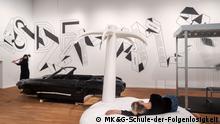 На выставке в Гамбургском художественном музее