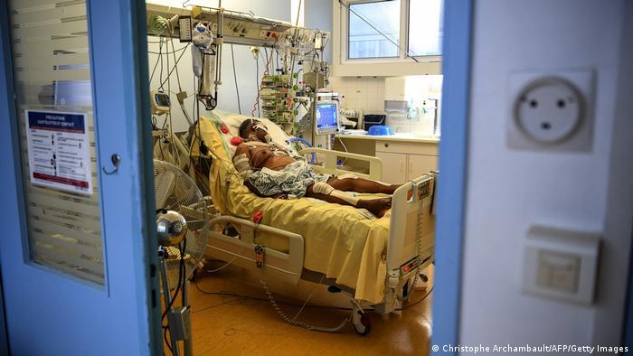 Weltspiegel 19.03.2021 | Corona |Frankreich Paris, Patient