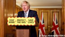 Weltspiegel 19.03.2021 | Corona |Großbritannien London | Boris Johnson, Premierminister