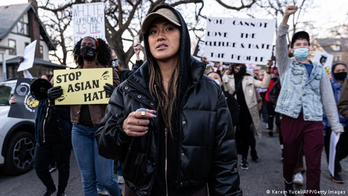 Weltspiegel 19.03.2021 | USA Minneapolis | Protest gegen anti-asiatischen Rassismus