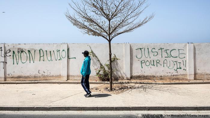 Weltspiegel 19.03.2021 | Senegal Dakar | Solidarität mit Adji Sarr