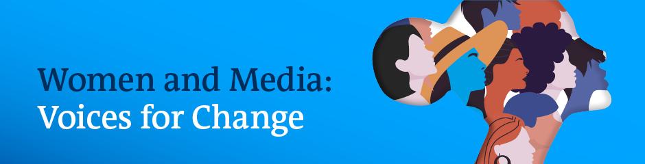 DW Akademie Women and Media Header Banner