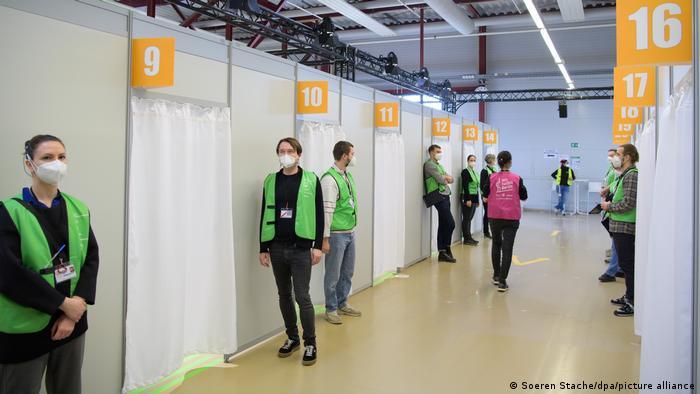 Centar za cijepljenje u Berlinu