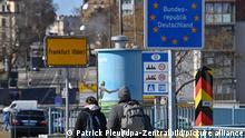 Coronavirus - Situation an der deutsch-polnischen Grenze