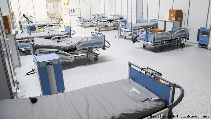 Polen I Temporäres Krankenhaus in Krakau