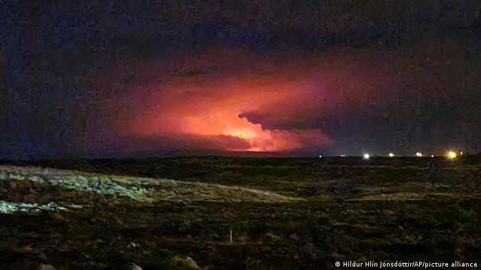Island I Vulkanausbruch