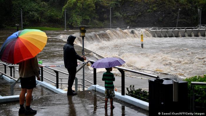 Australien I Überschwemmung in Sidney