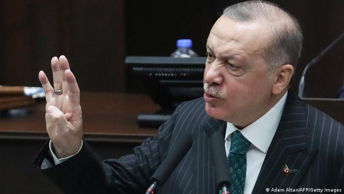 O presidente da Turquia, Recep Tayyip Erdogan