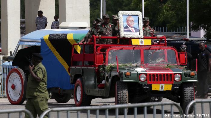 Tansania   Beisetzung Präsident John Magufuli in Dar es Salaam