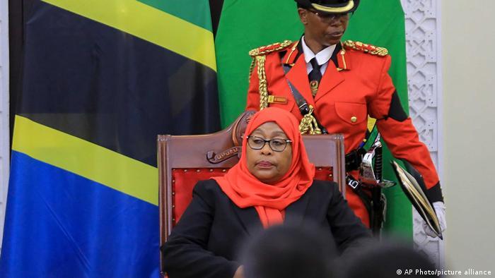 Tansania | Amtseinführung Präsidentin Samia Suluhu Hassan