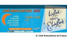 Flyer Ciné-Rencontres en France | Filmfestival Prades in Paris