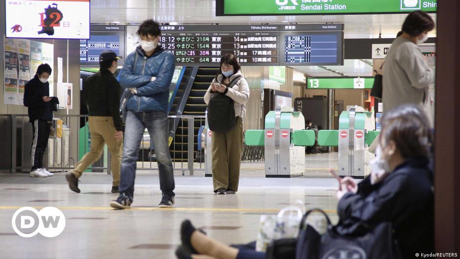 Japan hit by minor tsunami waves after magnitude 7.2 earthquake