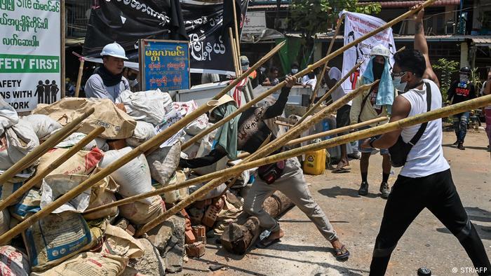 Акції протесту в Янгоні