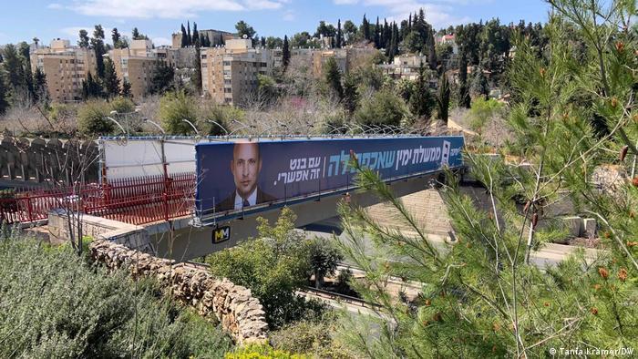 Israel   Parlamentswahlen   Wahlplakat   Naftali Bennett