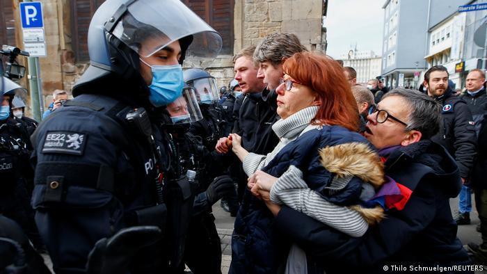 Protesti u Kasselu