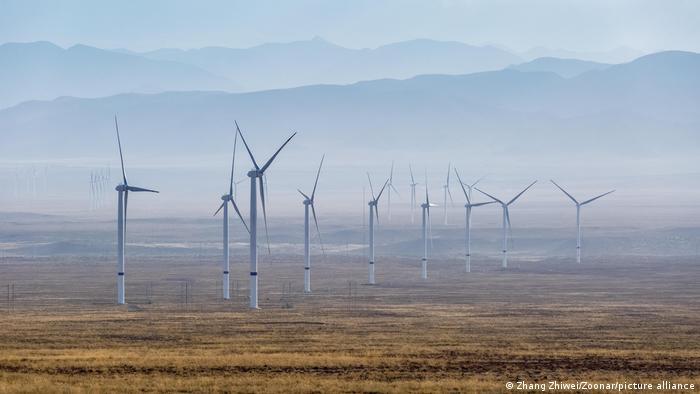 Chinese wind turbines