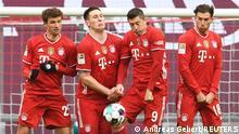 Deutschland Bundesliga - Bayern München v VfB Stuttgart | Robert Lewandowski