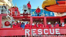 «Ocean Viking» wieder zu Rettungsmission ausgelaufen