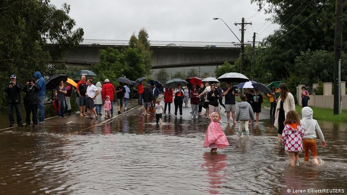 Australien | Überschwemmungen in Sydney