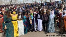 Newroz-Fest in Diyarbakır. (c) Şirvan Görer / DW