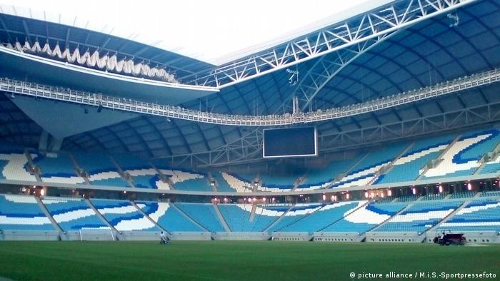 أحد استادات كأس العالم 2022