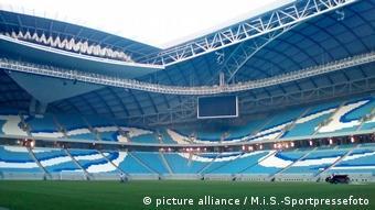 Футбольный стадион в Катаре, построенный к ЧМ-2022