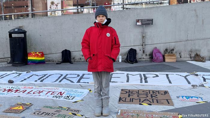 BG Globaler Klimaprotest der Jugend