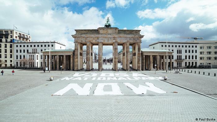 I ispred Brandenburških vrata u Berlinu je održana akcija za proglašenje nacionalnog parka Vjosa (Vojuša)