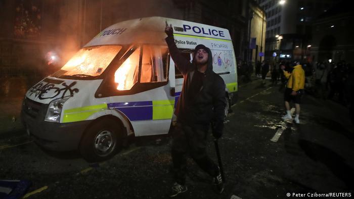 Großbritannien Protest gegen neues Polizeigesetz in Bristol