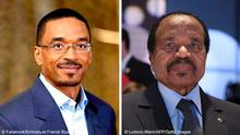 Bildkombo Emmanuel Franck Biya und Paul Biya