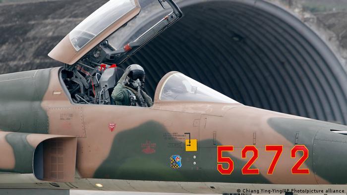 Taiwan Militär F-5E Tiger Kampfflugzeug USA