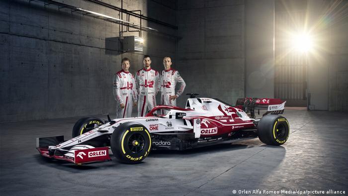 Vorstellung des neuen Formel-1-Wagens C41 von Alfa Romeo