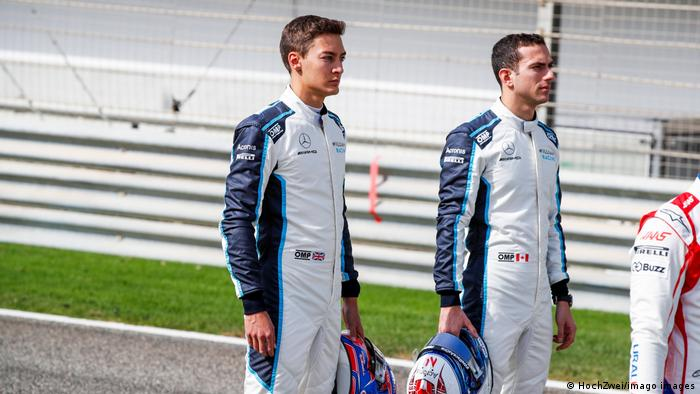 George Russell Nicholas Latifi Formel 1 Williams Racing
