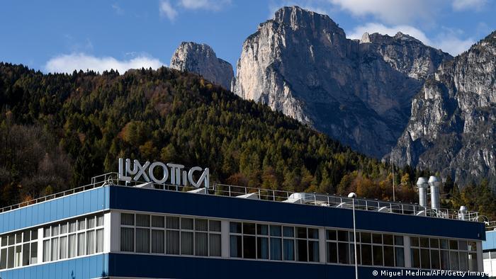 A Luxottica glasses production facility north of Venice