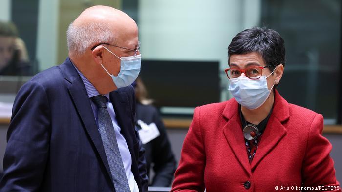 EU Außenminister Treffen in Brüssel