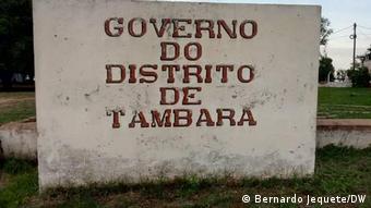 Mosambik Tambara Landwirtschaft Hunger