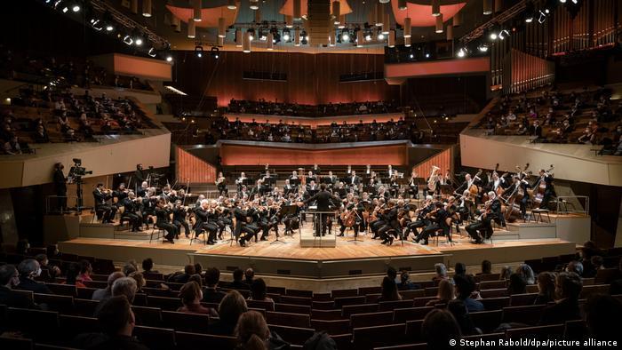 Concerto da Orquestra Filarmônica de Berlim para público reduzido