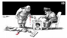 Karikatur der Woche von Mana Neyestani | Wahlen im Iran