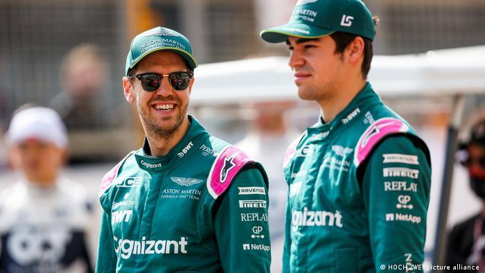 Formel 1 | Test | Aston Martin | Sebastian Vettel & Lance Stroll