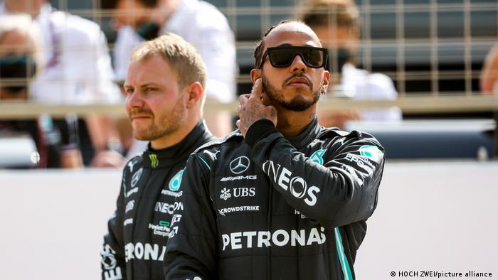 Formel 1 | Test | Mercedes-AMG Petronas | Bottas und Hamilton